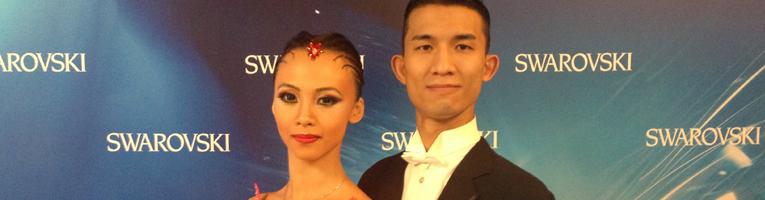 Ran Mo (Cook) & Jie Zhou (Maggie) - International Dance Shoes