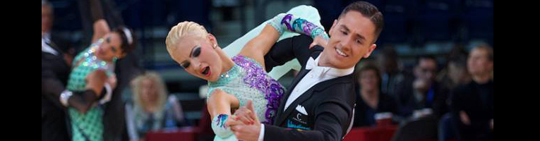 Dmitri Kolobov & Signe Busk - International Dance Shoes
